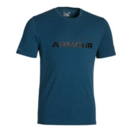 Under Armour Charged Cotton Stacked Wordmark Men's Short Sleeve Tee