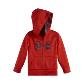 Under Armour Kids' Full Zip Big Logo Hoody