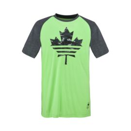 adidas Team Canada High Performance Collection Ultimate Baseball Men's 3/4 Tee