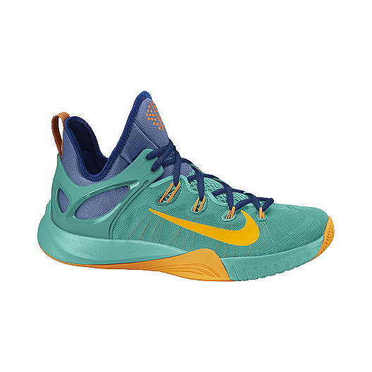 new concept aa3ac 63642 Nike Men s Zoom HyperRev 2015 Basketball Shoes - Blue Teal Yellow   Sport  Chek