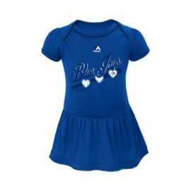 Toronto Blue Jays Baby Girls' Onesie Dress
