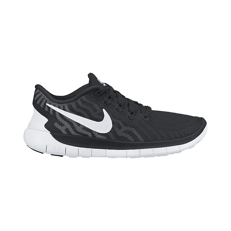 53ee7b7d0421 Nike Women s Free 5.0 2015 Running Shoes - Black White