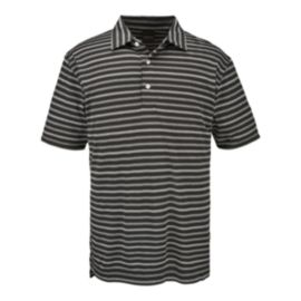Dunning Golf Pique Stripe Men's Polo