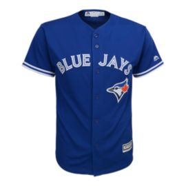 Toronto Blue Jays Kids' Cool Base Twill Home Baseball Jersey