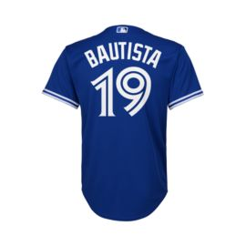 Toronto Blue Jays Little Kids' Jose Bautista Cool Base Replica Alternate Home Baseball Jersey