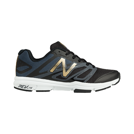 eeb1b755e03fc New Balance Men's 797v4 2E Wide Width Training Shoes - Black/Gold | Sport  Chek