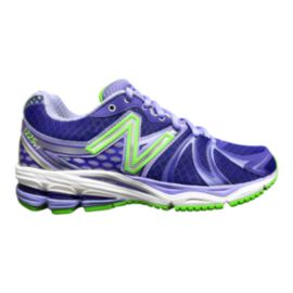 New Balance Women's 1225 B Running Shoes - Blue/Green/Silver