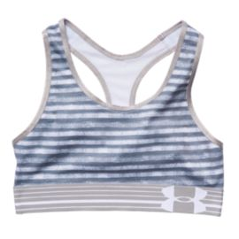 Under Armour HeatGear® Alpha Printed Girls' Sports Bra