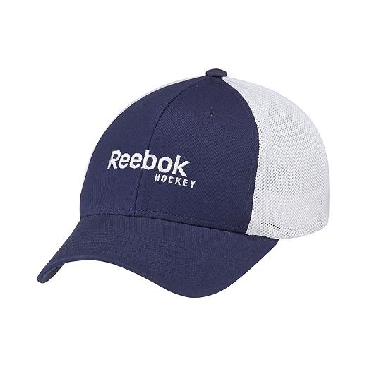 9913f398504 Reebok Hockey Men s Mesh Back Cap - W74735 ATHLETIC NAVY WHITE