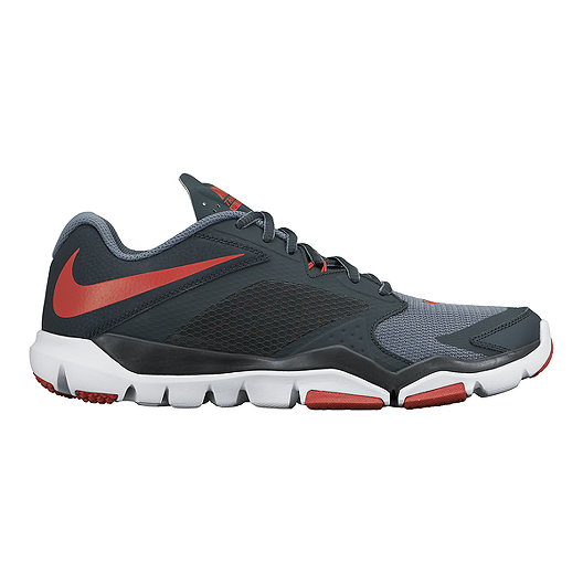 58ab4167c4fa Nike Men s Flex Supreme TR 3 Training Shoes - Black Red