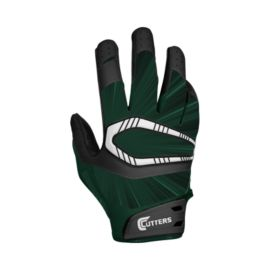 Cutters Rev Pro Football Receiver Glove - Dark Green