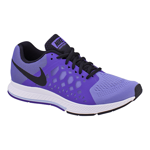 91c92af54a4f Nike Women s Zoom Pegasus 31 Running Shoes - Purple Black