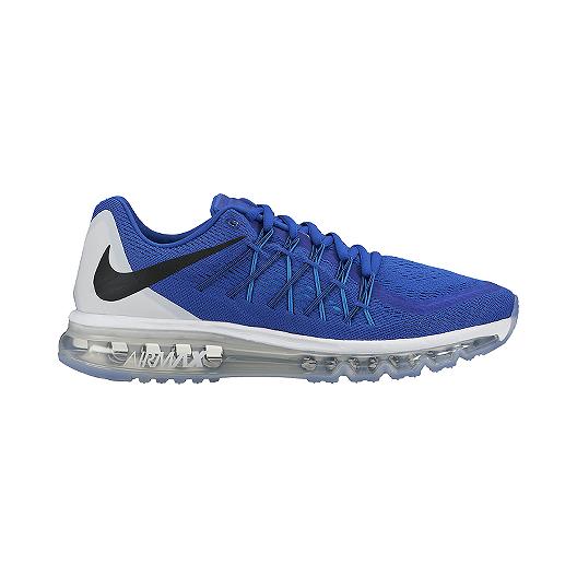 f180d122f2af Nike Men s Air Max 2015 Running Shoes - Blue Black White