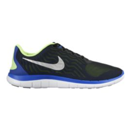 Nike Men's Free 4.0 V5 Running Shoes - Black/Blue