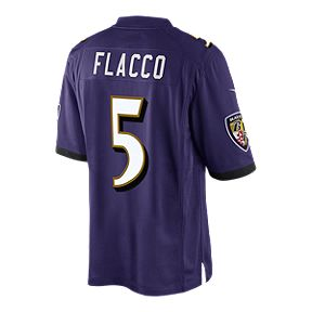 0c31edad6 Baltimore Ravens Joe Flacco Limited Purple Football Jersey