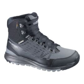 Salomon Men's Kaipo Mid CS WP Winter Boots - Grey/Black