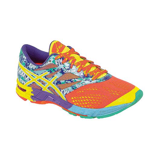 9ee8f4aa3c ASICS Women's Gel Noosa Tri 10 Running Shoes - Orange/Blue Pattern/Orange |  Sport Chek