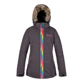 Firefly Girls' Olympiana Insulated Long Jacket