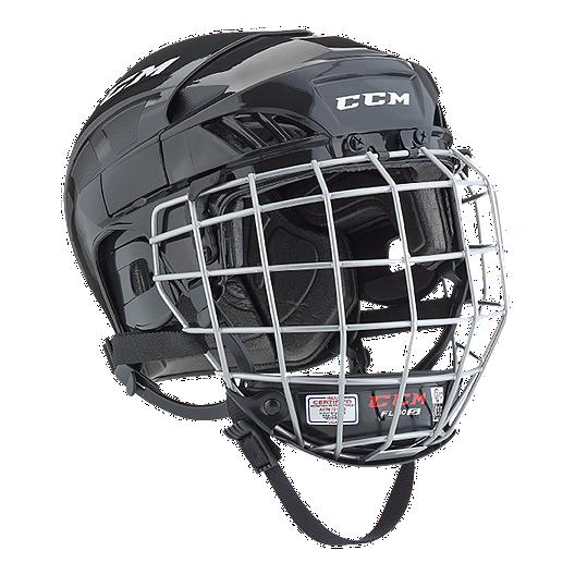 4858ebe7a1f CCM FL40 Combo Senior Hockey Helmet