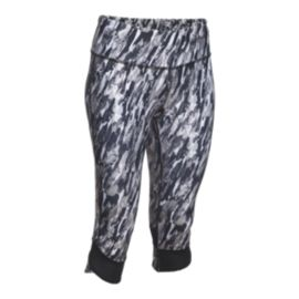 Under Armour Fly-By Compression Cheetah Women's Capri