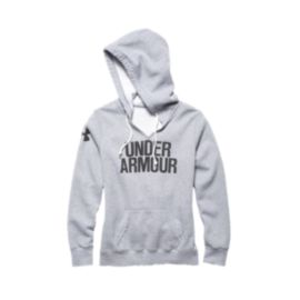 Under Armour Cotton Fleece Wordmark Women's Hoodie