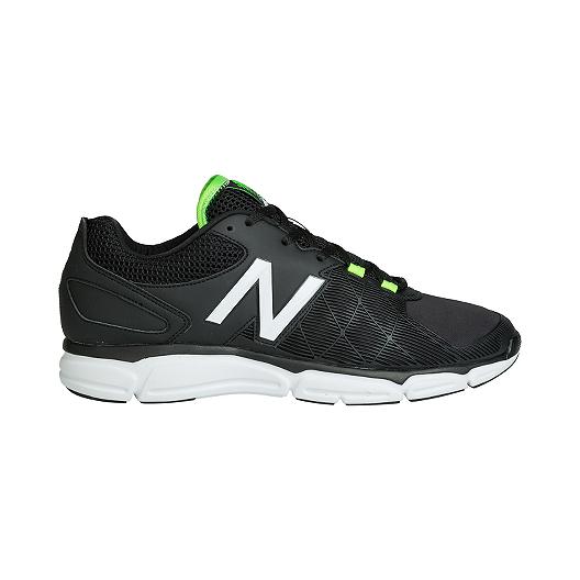 be8709f4837 New Balance Men's 813v3 2E Wide Width Training Shoes - Black/White