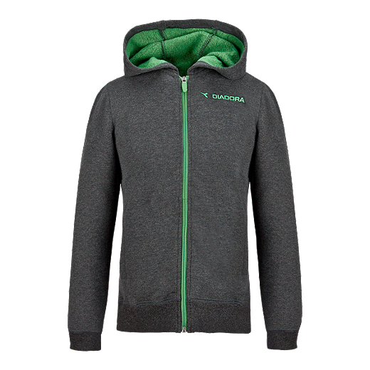 Diadora Back To Basics Kids' Full Zip Hoodie | Sport Chek