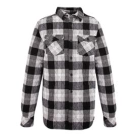 Firefly Gonz Men's Long Sleeve Quilted Flannel Shirt