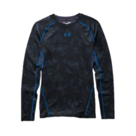 Under Armour HeatGear®  Armour Printed Men's  Long Sleeve Compression Shirt