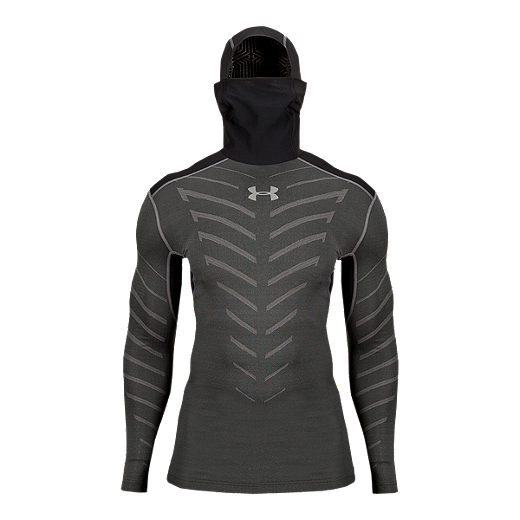 841e746950 Under Armour ColdGear Infrared Armour Men's Compression Hoody - 001  BLACK/GRAPHITE