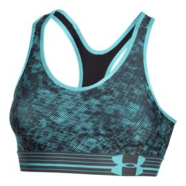 Under Armour Armour Pixel All-Over Print Women's Mid Bra