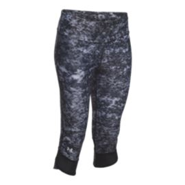 Under Armour Run Fly By Pixel All-Over Print Women's Capris