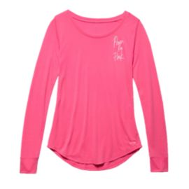 Under Armour Power In Pink® Women's Long Sleeve Crew Top