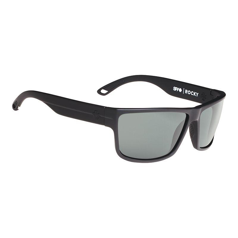 Image of Spy Rocky - Black with Happy Grey Green Lenses