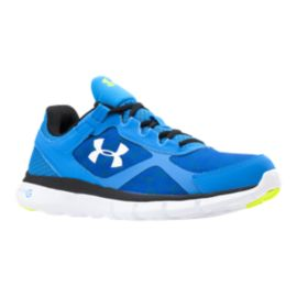 Under Armour Men's Micro G Velocity RN Running Shoes - Blue/White/Black