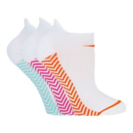 Diadora Chevron Run Tab Women's No Show Socks - 3-Pack