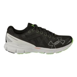Under Armour Men's Charged Bandit Running Shoes - Black/White