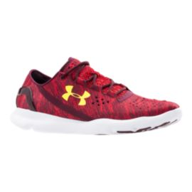 Under Armour Men's SpeedForm Apollo Twist Running Shoes - Red/Yellow