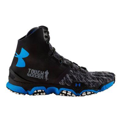 Under Armour Men's SpeedForm XC Mid Trail Running Shoes - Black/Blue