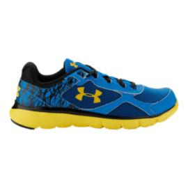 Under Armour Mirco-G Velocity Kids' Grade-School Running Shoes