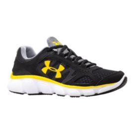 armour assert v pre school running shoes