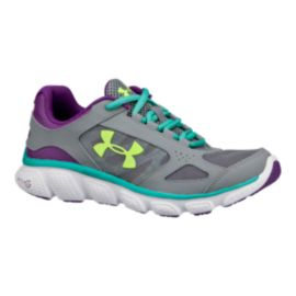 Under Armour Micro-G Assert V Girls' Grade-School Running Shoes