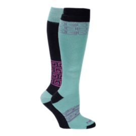 Firefly Stellar Women's Snow Socks - 2-Pack