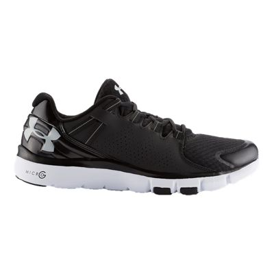 Under Armour Men's Micro G Limitless Training Shoes - Black/White