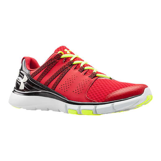 reputable site a2eb5 8fcbf Under Armour Men's Micro G Limitless Training Shoes - Red ...