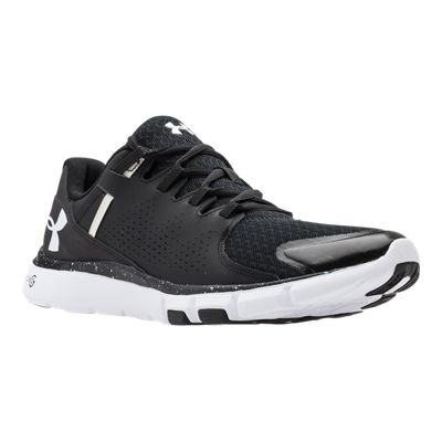 Under Armour Women's Micro G Limitless Training Shoes - Black/White