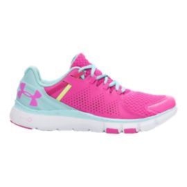 Under Armour Women's Micro G Limitless Training Shoes - Pink/Blue/White
