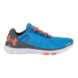 Under Armour Women's Micro G Limitless Training Shoes - Blue/Grey/Orange