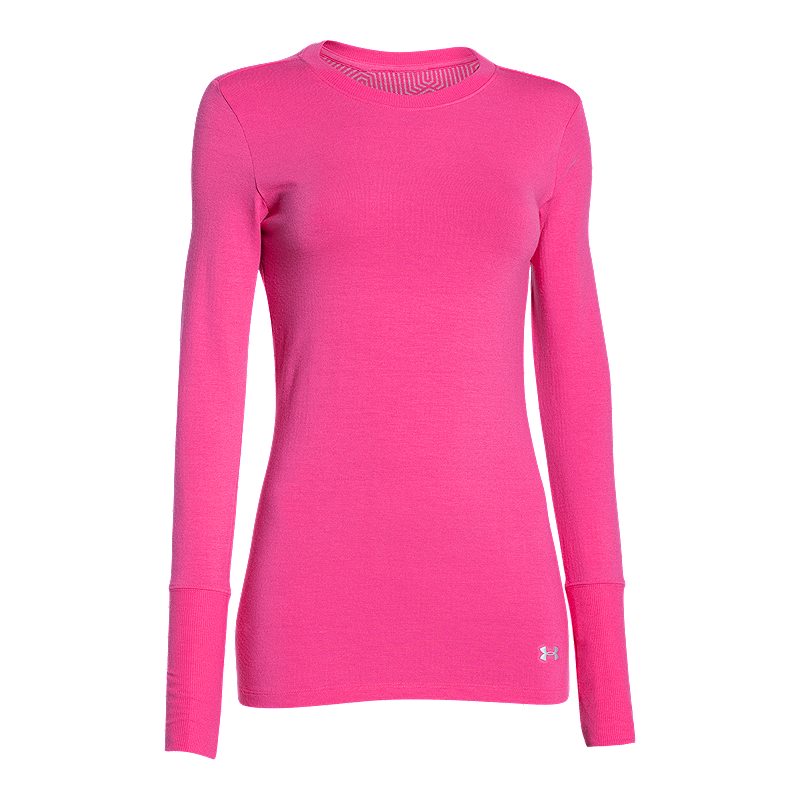 Sport Chek Heated Gloves: Under Armour ColdGear Infrared Women's Long Sleeve Crew