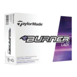 TaylorMade Burner Lady Golf Balls - 12 Pack